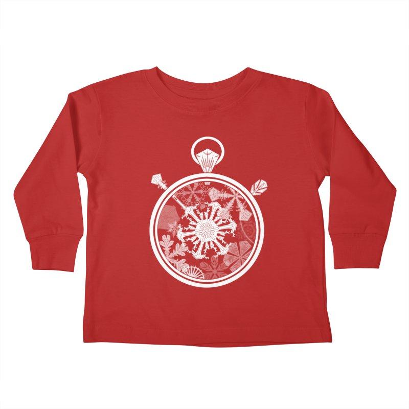 Winter Time Kids Toddler Longsleeve T-Shirt by Garbonite