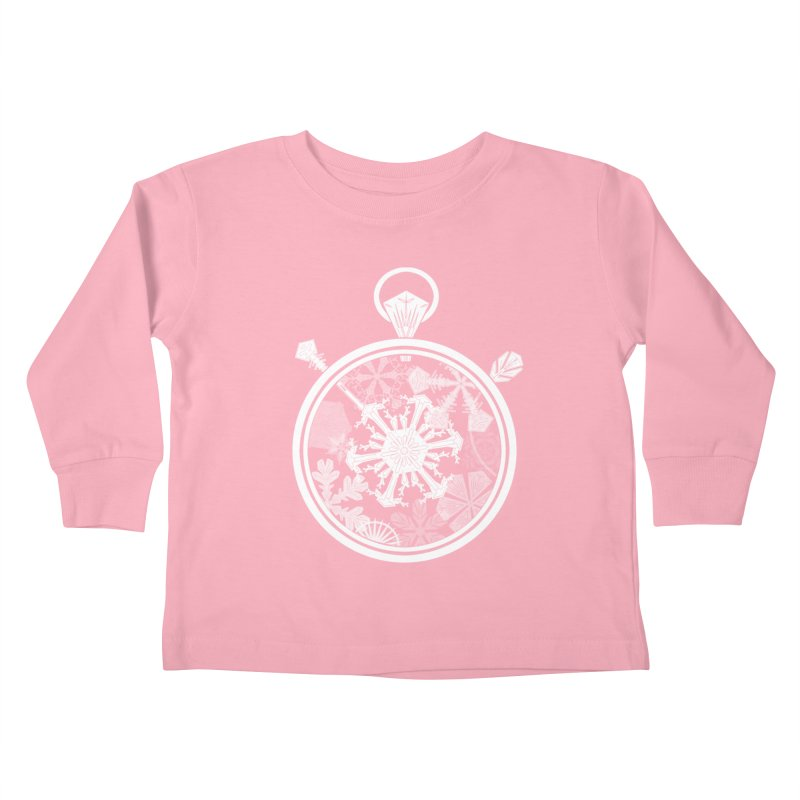 Winter Time Kids Toddler Longsleeve T-Shirt by Garbonite