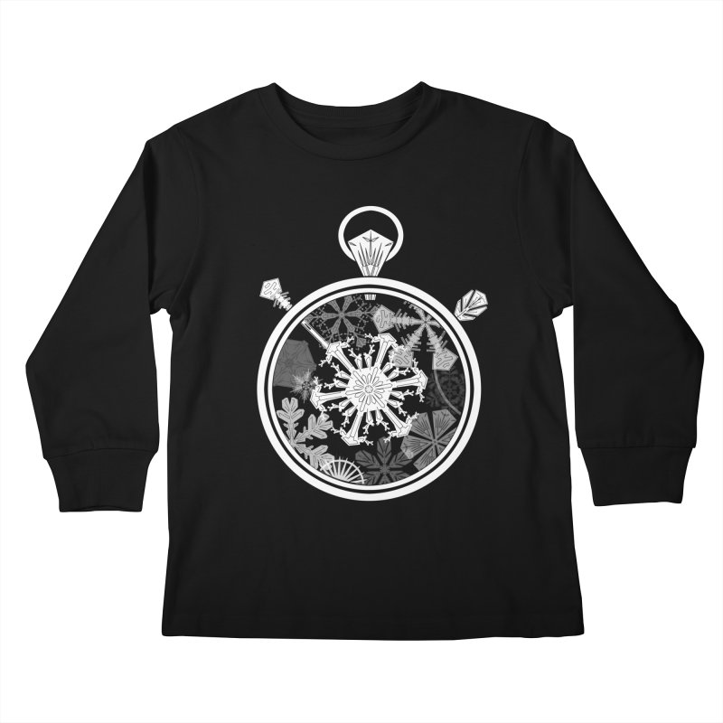 Winter Time Kids Longsleeve T-Shirt by Garbonite
