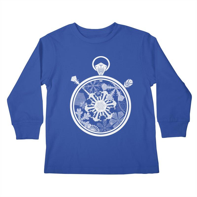 Winter Time Kids Longsleeve T-Shirt by Garbonite