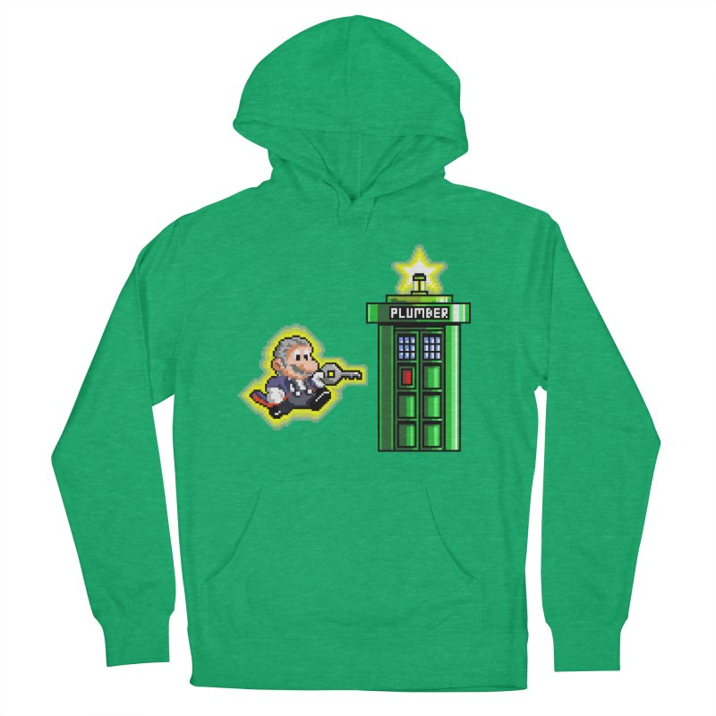 """Plumber Who?"" - Level 12 Women's French Terry Pullover Hoody by Garbonite"