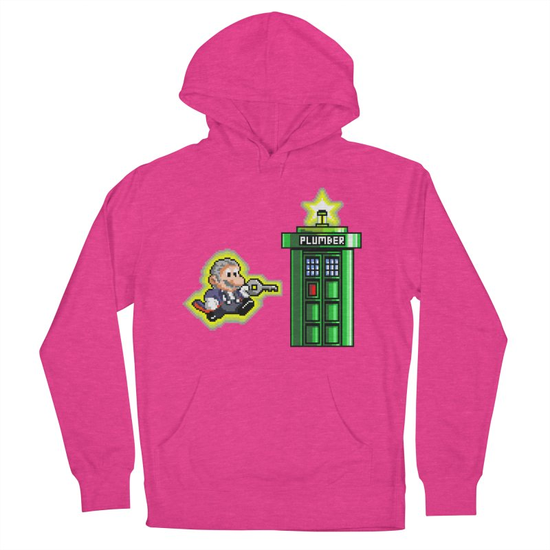 """""""Plumber Who?"""" - Level 12 Women's French Terry Pullover Hoody by Garbonite"""