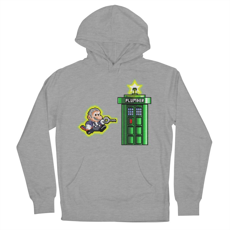 """Plumber Who?"" - Level 12 Men's Pullover Hoody by Garbonite"