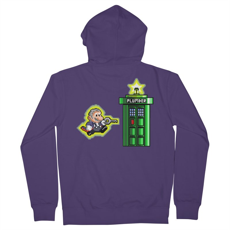 """""""Plumber Who?"""" - Level 12 Women's French Terry Zip-Up Hoody by Garbonite"""