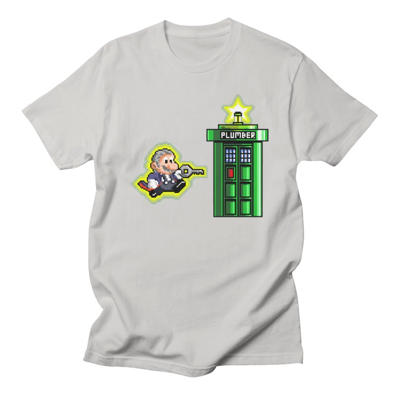 """Plumber Who?"" - Level 12 Men's T-shirt by Garbonite"