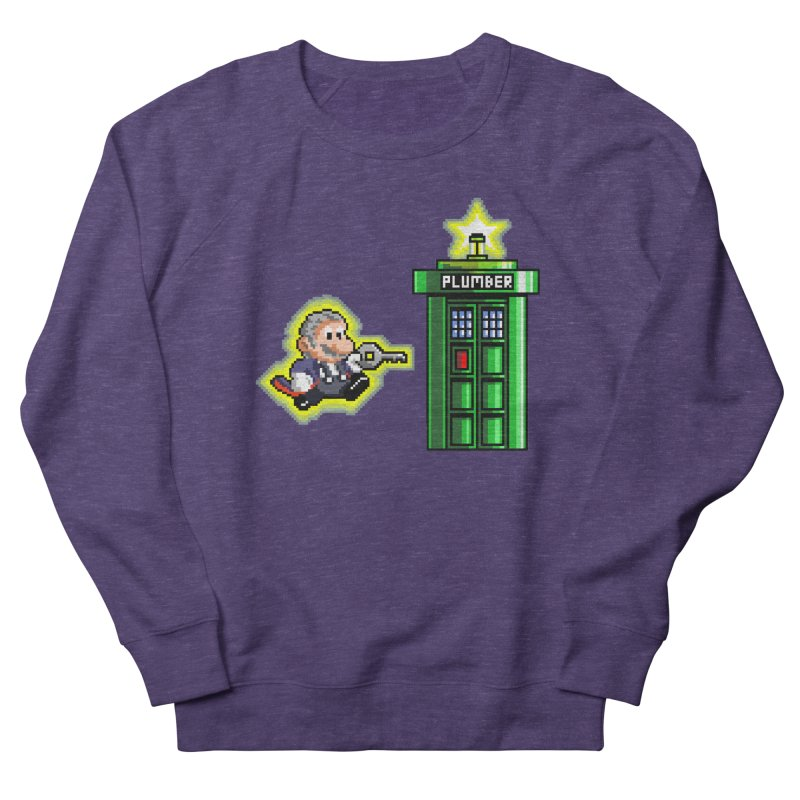 """""""Plumber Who?"""" - Level 12 Women's French Terry Sweatshirt by Garbonite"""