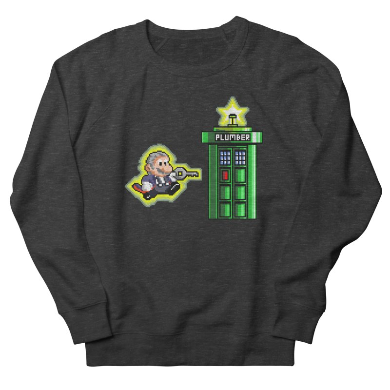 """""""Plumber Who?"""" - Level 12 Men's French Terry Sweatshirt by Garbonite"""