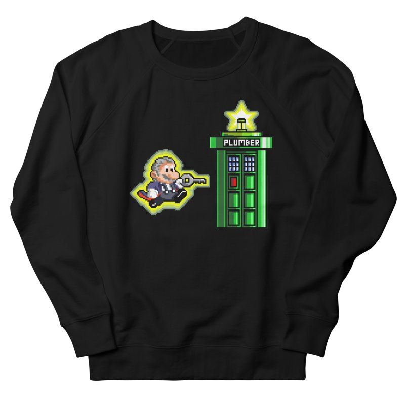 """Plumber Who?"" - Level 12 Men's Sweatshirt by Garbonite"