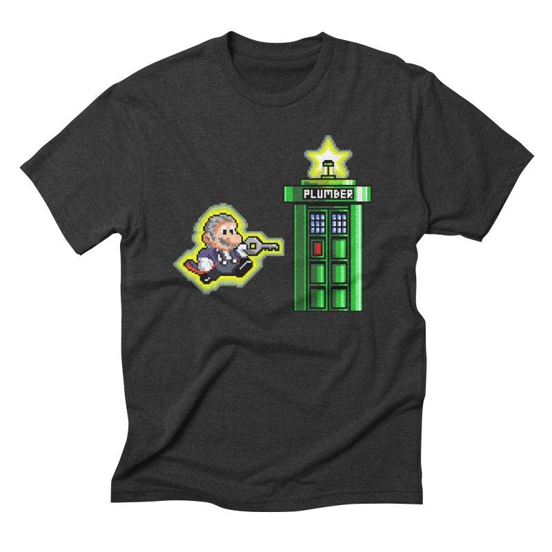 """Plumber Who?"" - Level 12 Men's Triblend T-shirt by Garbonite"