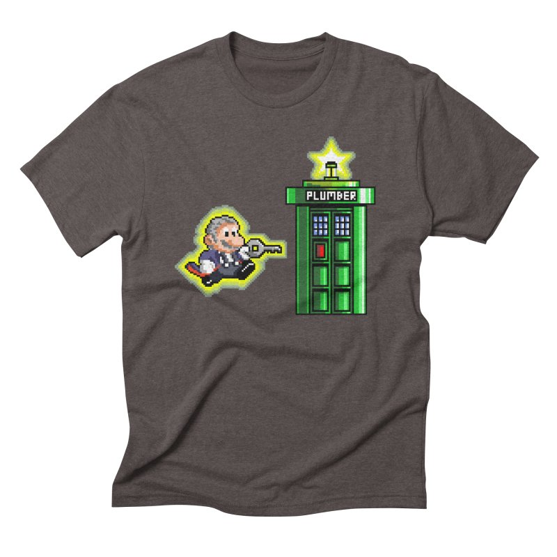"""Plumber Who?"" - Level 12 Men's Triblend T-Shirt by Garbonite"