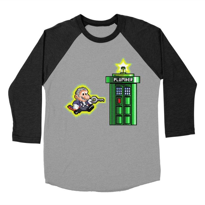 """""""Plumber Who?"""" - Level 12 Women's Baseball Triblend Longsleeve T-Shirt by Garbonite"""