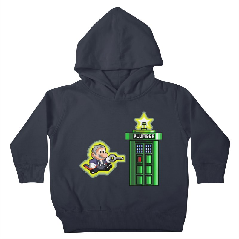 """""""Plumber Who?"""" - Level 12 Kids Toddler Pullover Hoody by Garbonite"""