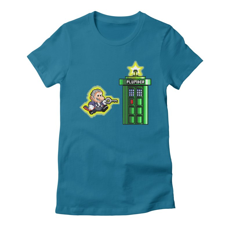 """Plumber Who?"" - Level 12 Women's Fitted T-Shirt by Garbonite"