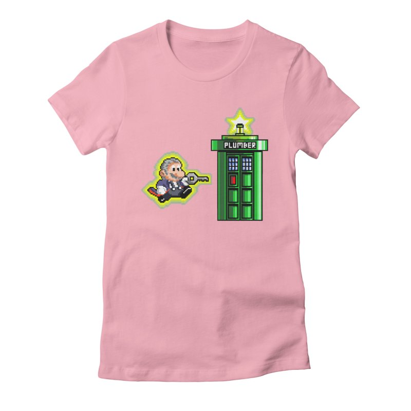 """""""Plumber Who?"""" - Level 12 Women's Fitted T-Shirt by Garbonite"""