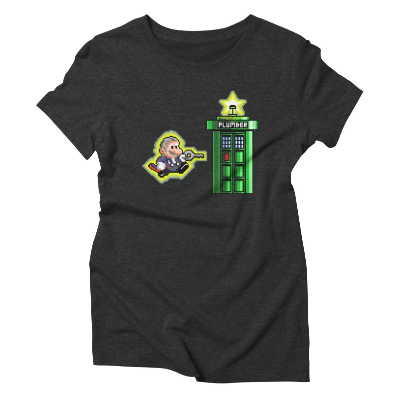 """""""Plumber Who?"""" - Level 12 Women's Triblend T-Shirt by Garbonite"""
