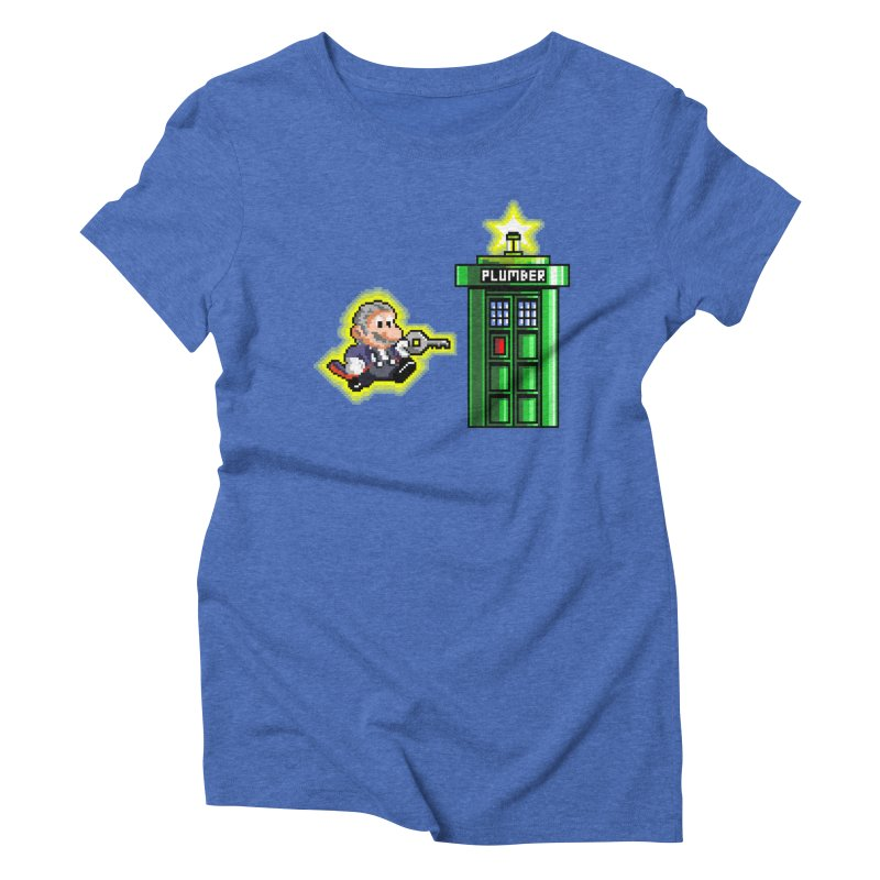 """Plumber Who?"" - Level 12 Women's Triblend T-Shirt by Garbonite"