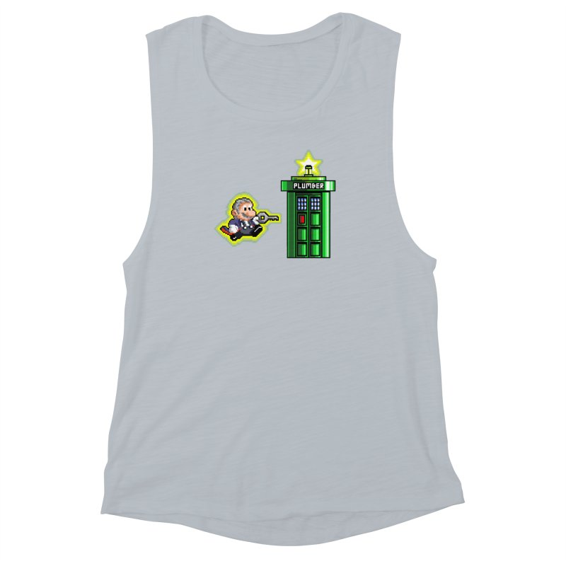 """""""Plumber Who?"""" - Level 12 Women's Muscle Tank by Garbonite"""