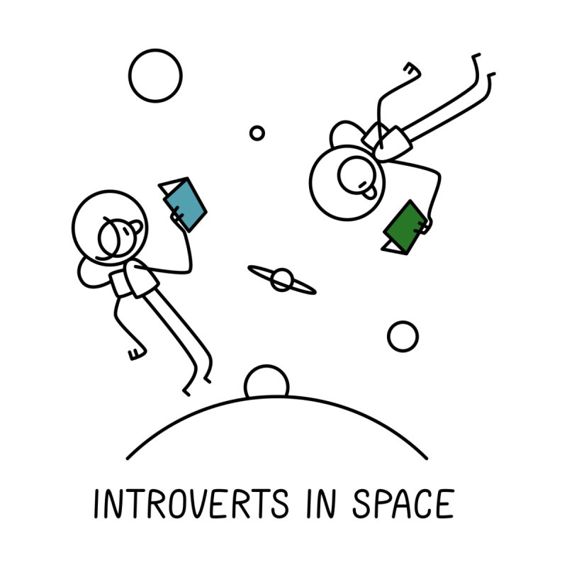 Introverts In Space None  by