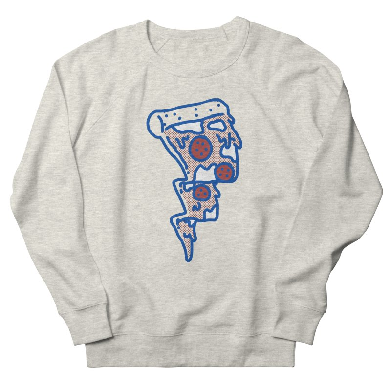 Pop Pizza flash Women's Sweatshirt by micheleficeli's Artist Shop