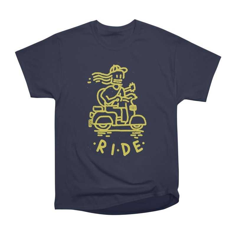 Ride Men's Heavyweight T-Shirt by micheleficeli's Artist Shop