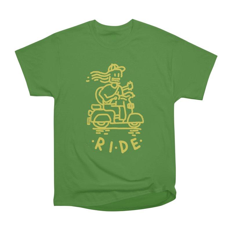 Ride Women's Classic Unisex T-Shirt by micheleficeli's Artist Shop