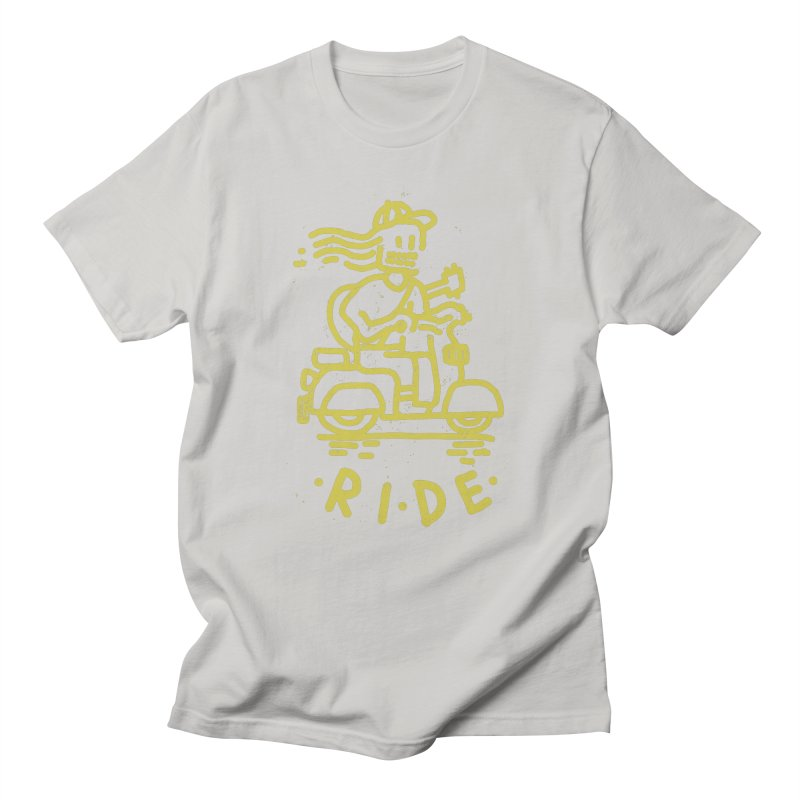 Ride in Men's T-shirt Stone by micheleficeli's Artist Shop