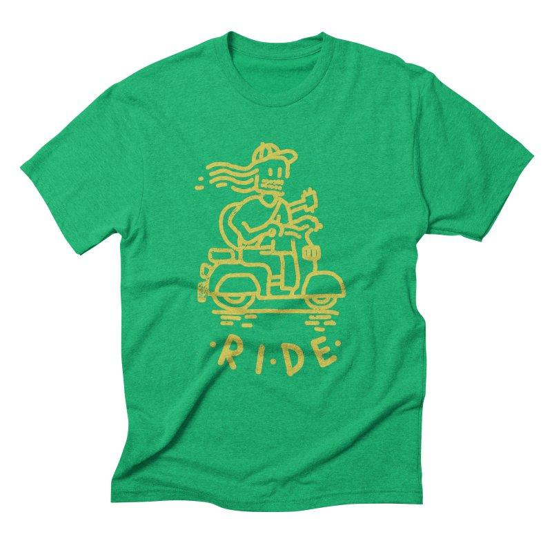Ride Men's Triblend T-shirt by micheleficeli's Artist Shop