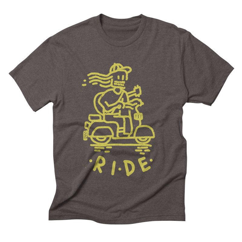 Ride Men's Triblend T-shirt by micheleficeli's Artist Shop