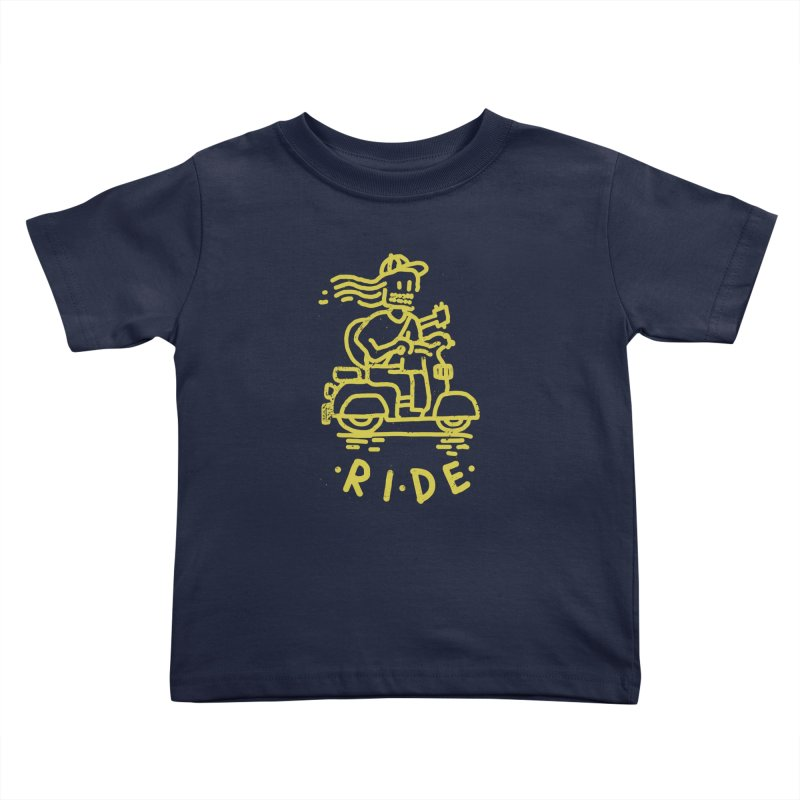 Ride Kids Toddler T-Shirt by micheleficeli's Artist Shop