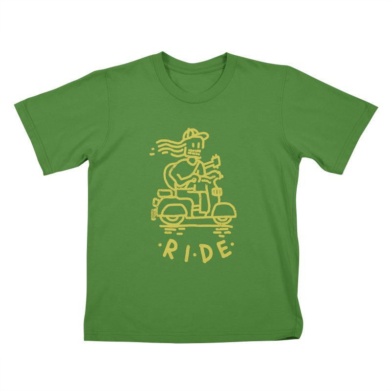 Ride Kids T-shirt by micheleficeli's Artist Shop