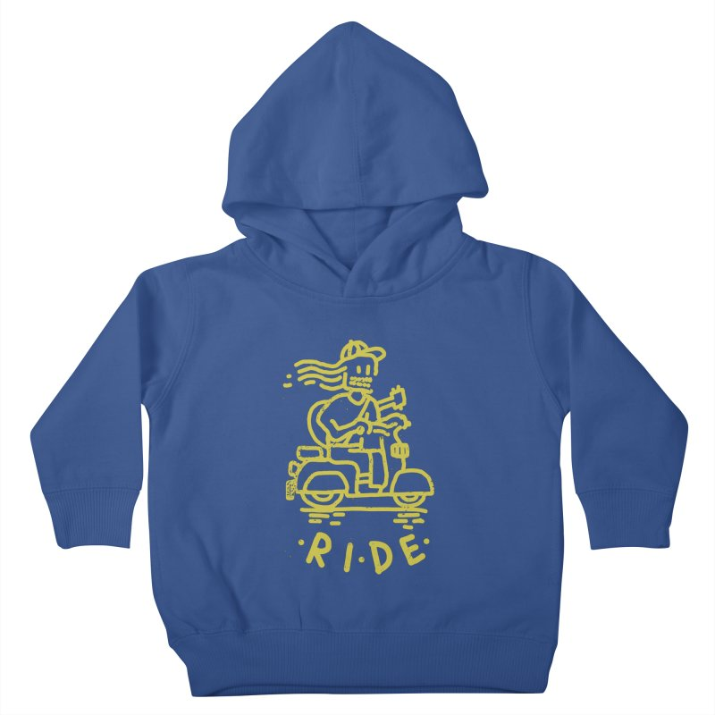 Ride Kids Toddler Pullover Hoody by micheleficeli's Artist Shop