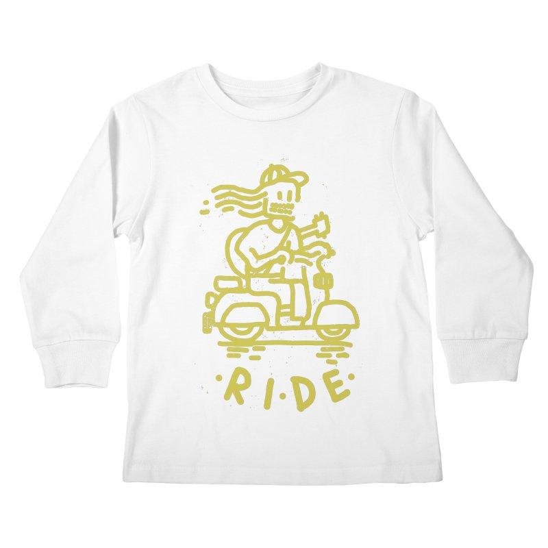 Ride Kids Longsleeve T-Shirt by micheleficeli's Artist Shop