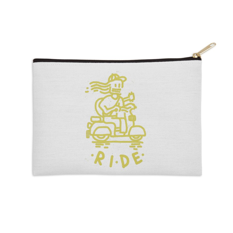 Ride Accessories Zip Pouch by micheleficeli's Artist Shop