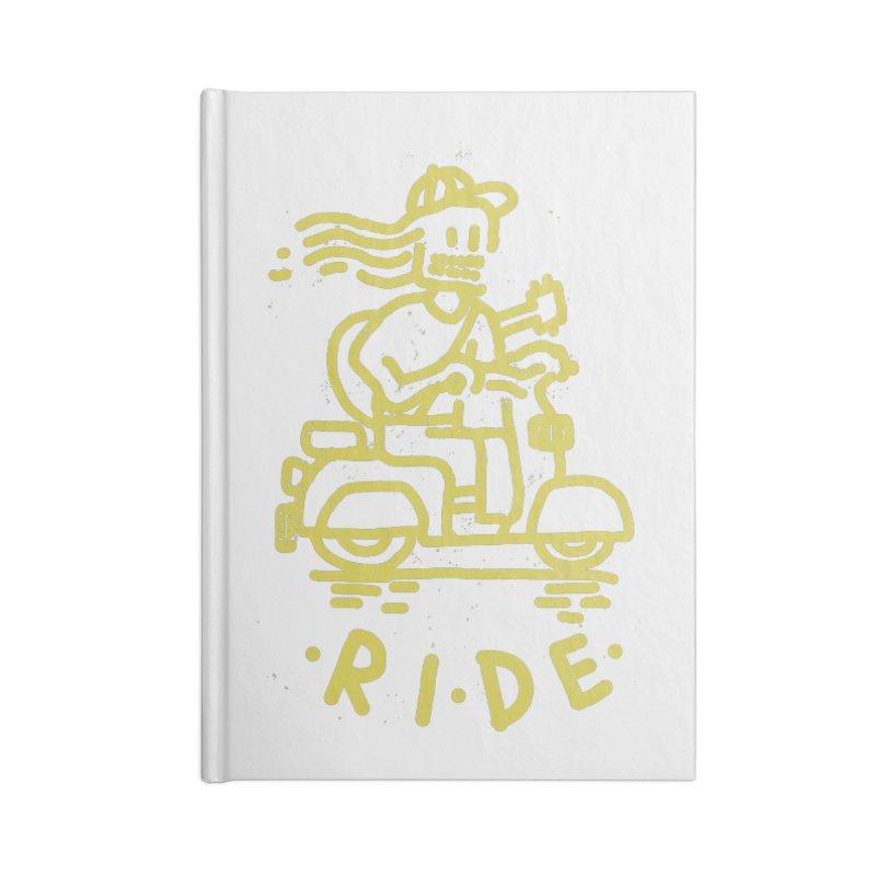Ride Accessories Notebook by micheleficeli's Artist Shop