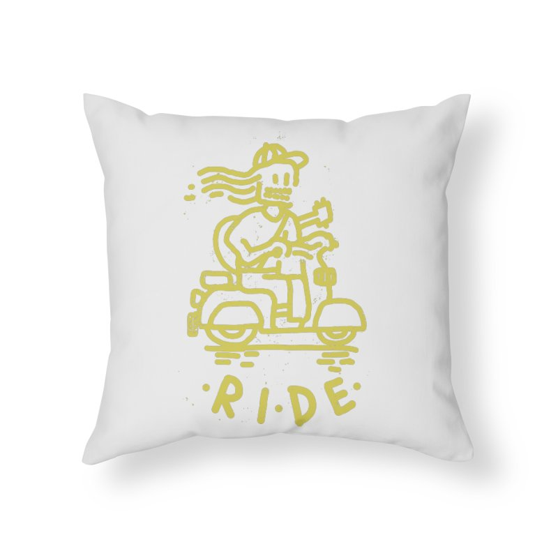 Ride Home Throw Pillow by micheleficeli's Artist Shop