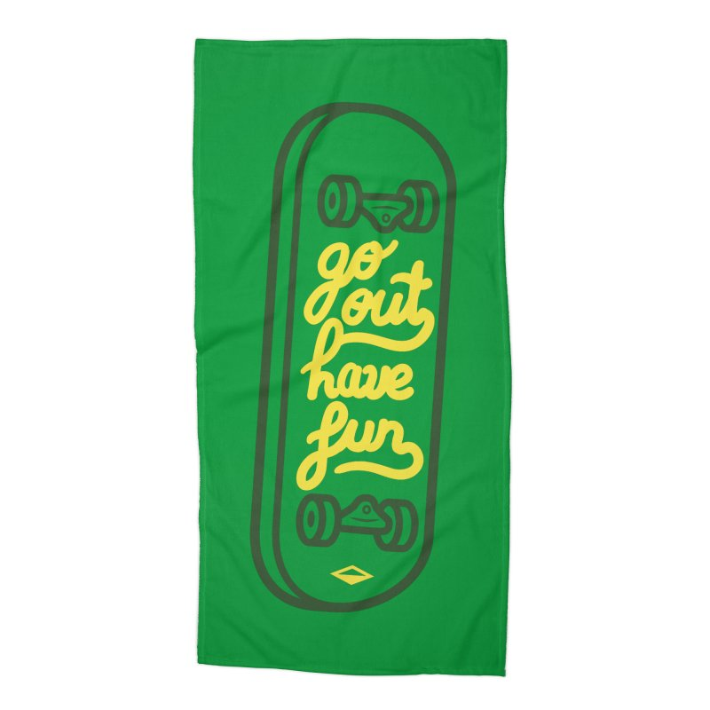 Go out, have fun (green version)    by micheleficeli's Artist Shop