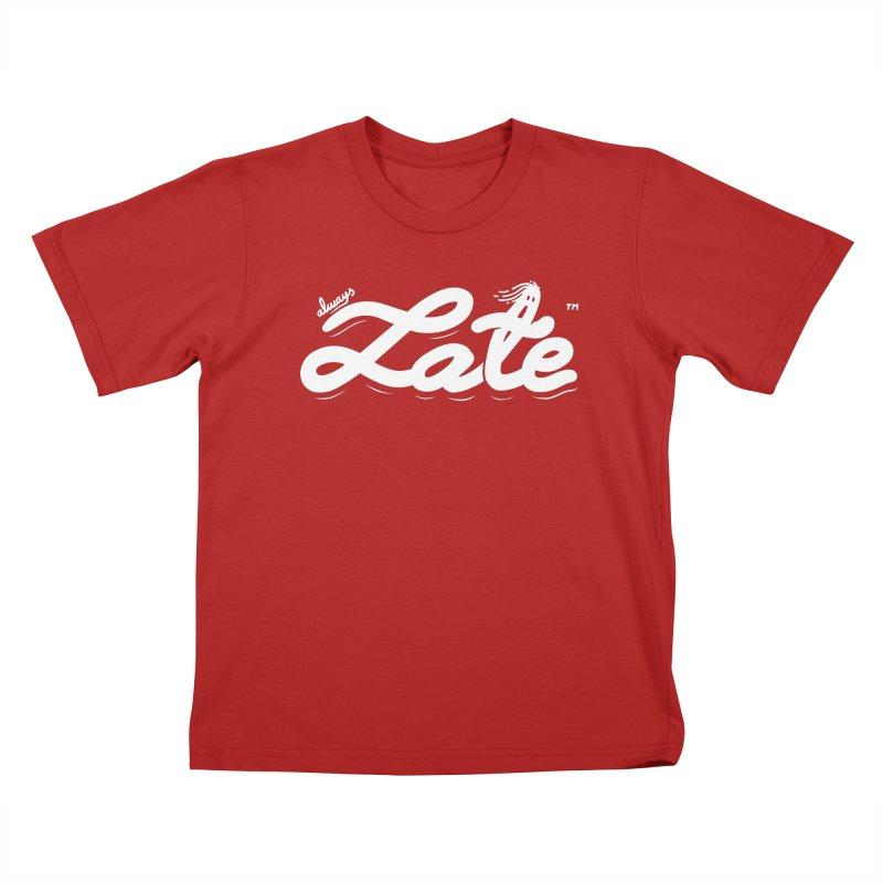 Always late Kids T-shirt by micheleficeli's Artist Shop