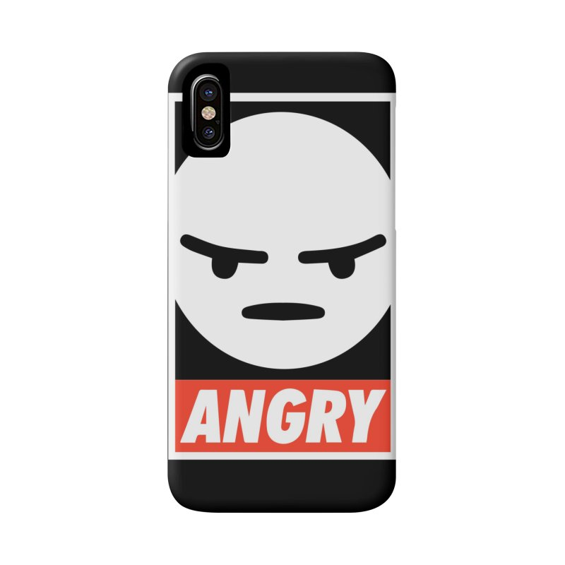 Angry Reacts Only Accessories Phone Case by michelerota's Artist Shop