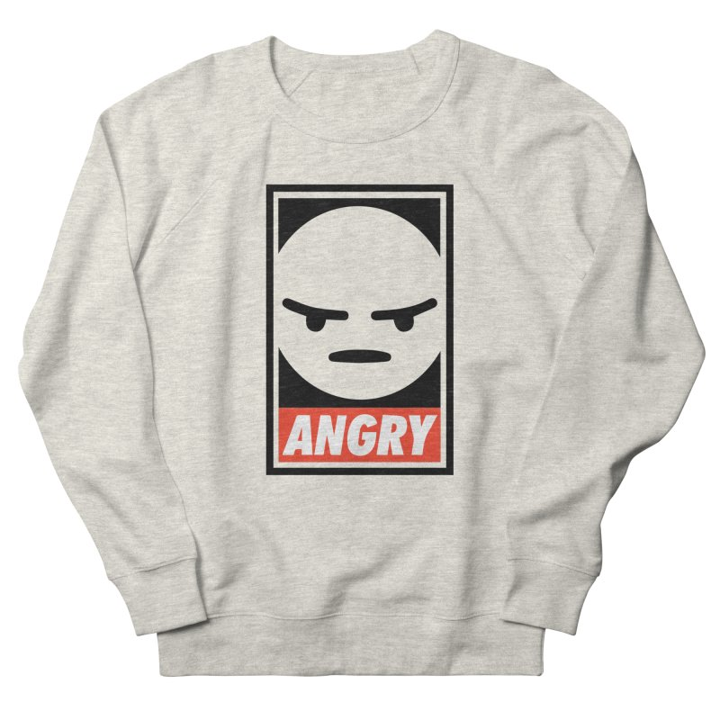 Angry Reacts Only Men's Sweatshirt by michelerota's Artist Shop