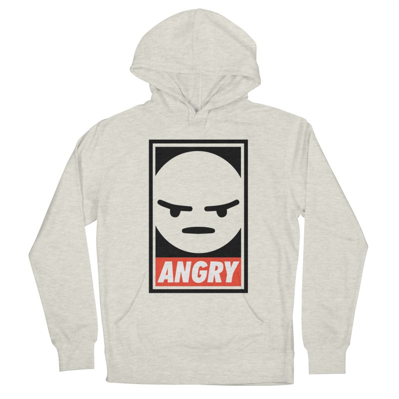 Angry Reacts Only Men's Pullover Hoody by michelerota's Artist Shop