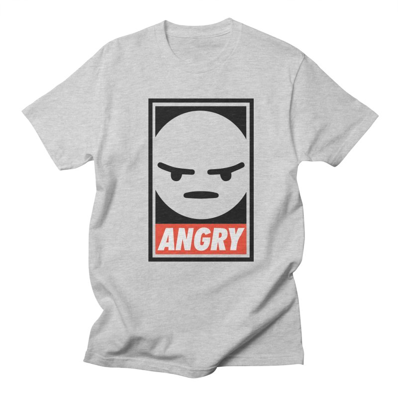 Angry Reacts Only Women's Unisex T-Shirt by michelerota's Artist Shop