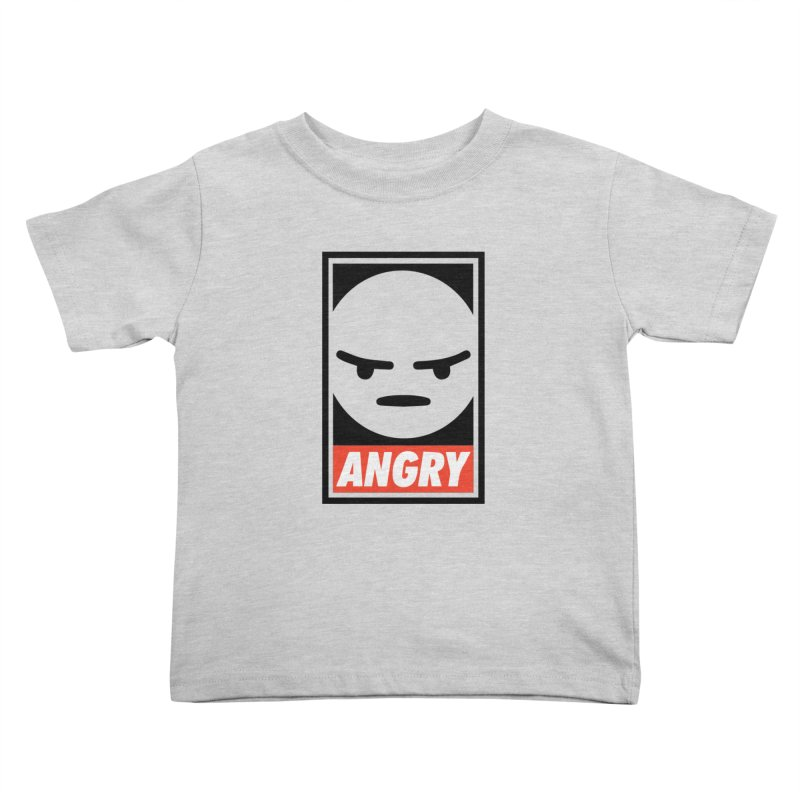 Angry Reacts Only Kids Toddler T-Shirt by michelerota's Artist Shop