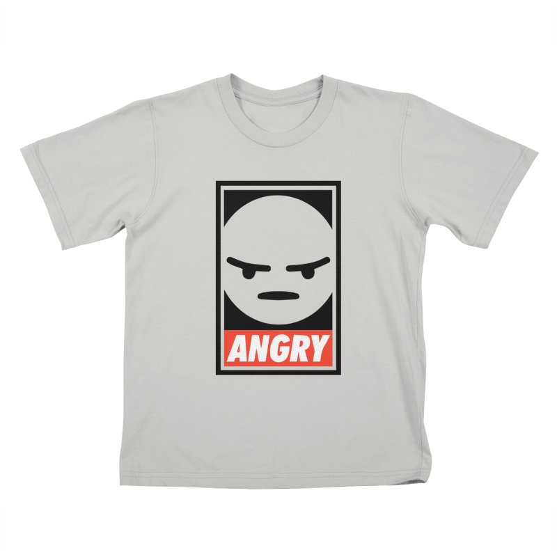Angry Reacts Only Kids T-shirt by michelerota's Artist Shop