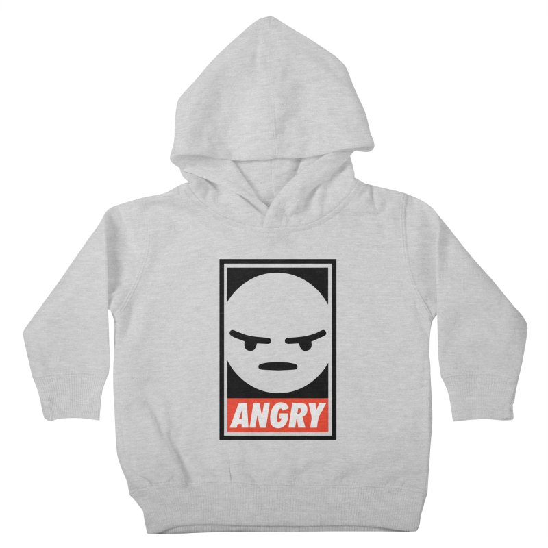 Angry Reacts Only Kids Toddler Pullover Hoody by michelerota's Artist Shop