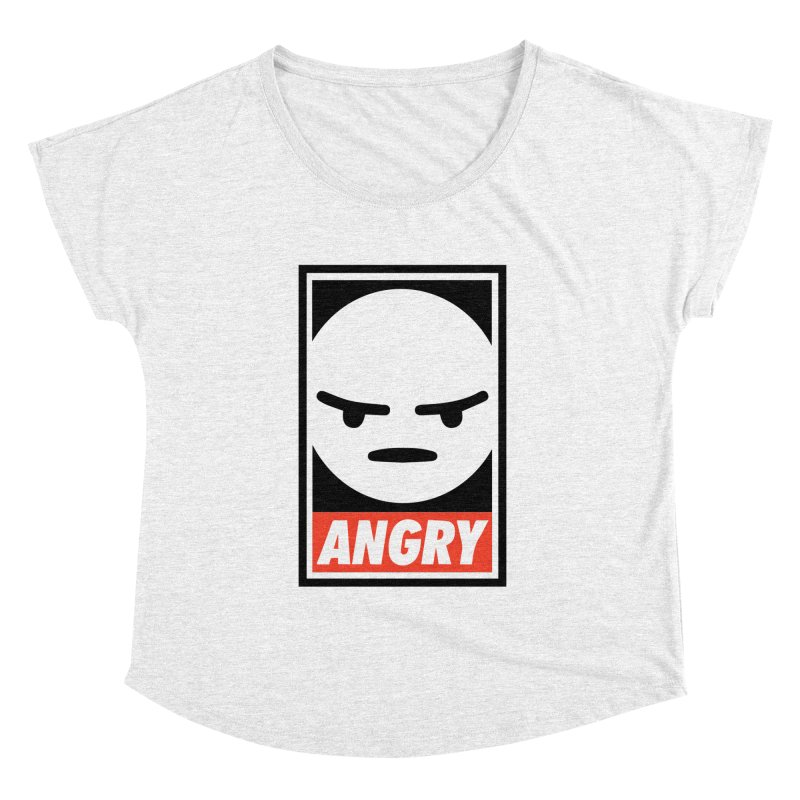 Angry Reacts Only Women's Dolman by michelerota's Artist Shop