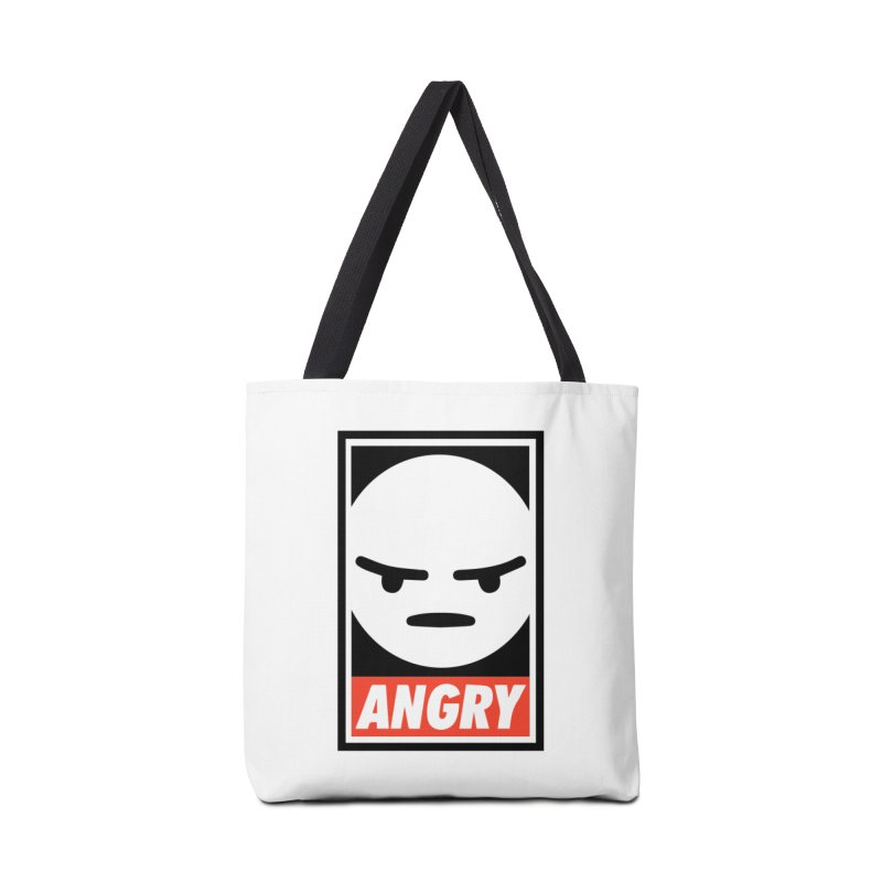 Angry Reacts Only Accessories Bag by michelerota's Artist Shop