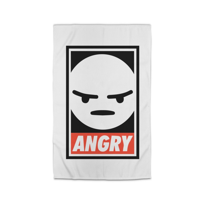 Angry Reacts Only Home Rug by michelerota's Artist Shop