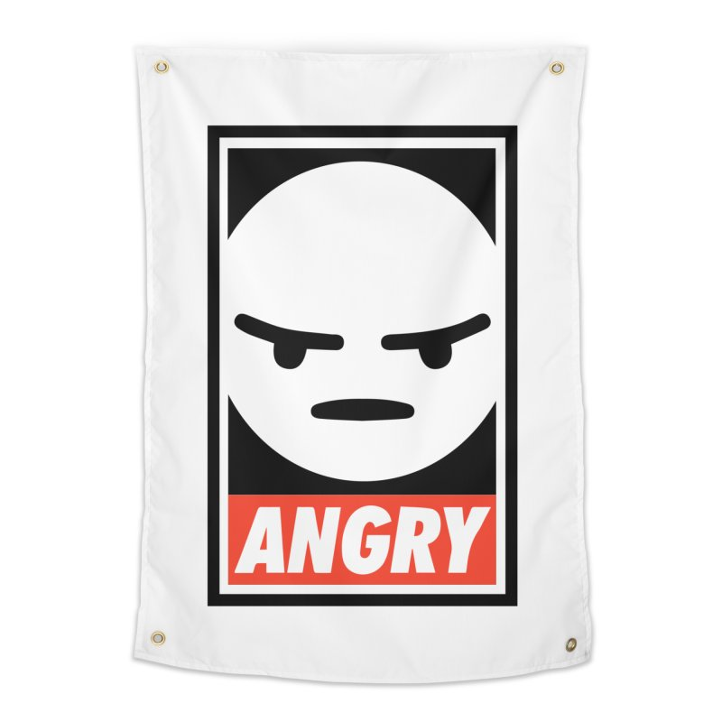 Angry Reacts Only Home Tapestry by michelerota's Artist Shop