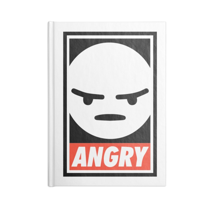 Angry Reacts Only Accessories Notebook by michelerota's Artist Shop