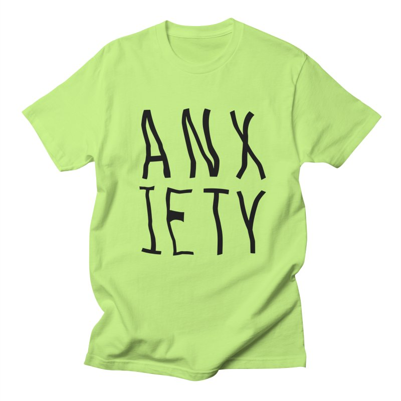 Anxiety Men's T-shirt by michelerota's Artist Shop